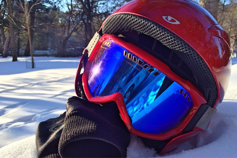 gogle narciarskie damskie